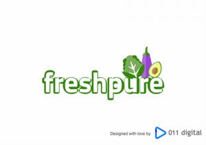 Freshpure logo design